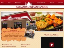 Taj Mahal Indian Cuisine Restaurant