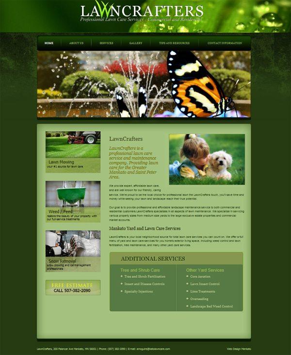 Mankato Lawn Care Company Lawncrafters Lawn Services