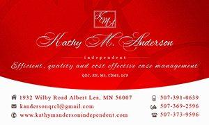 KMA Business Card Design