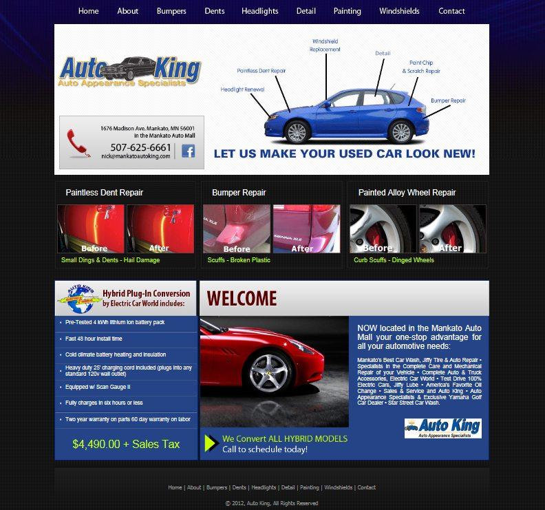 Auto King Mankato Auto Repair By Minnesota Design