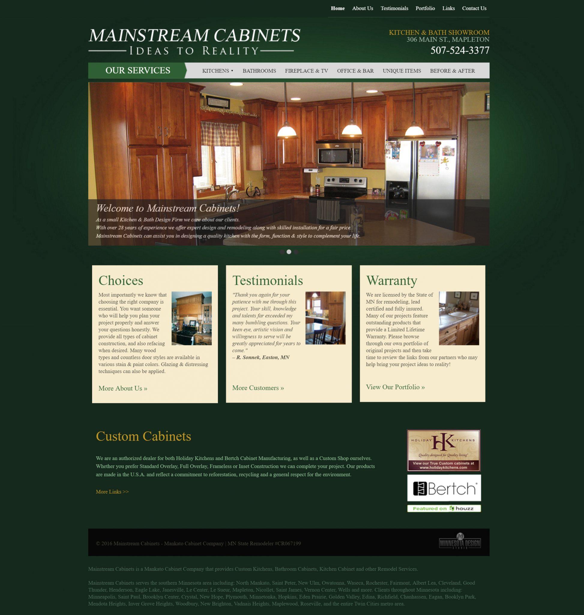 Mainstream Cabinets