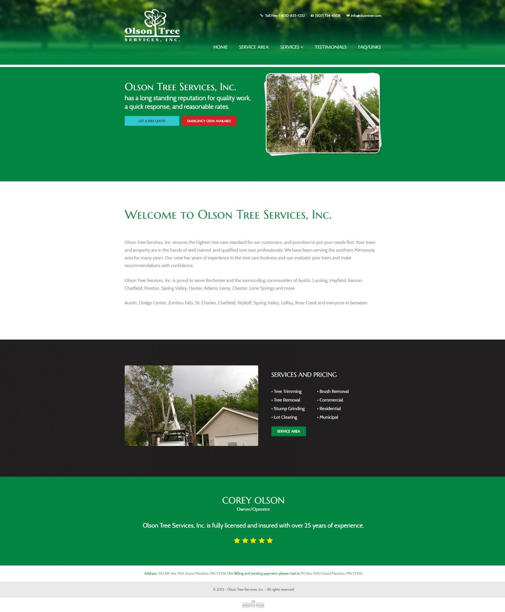 Olson Tree Service