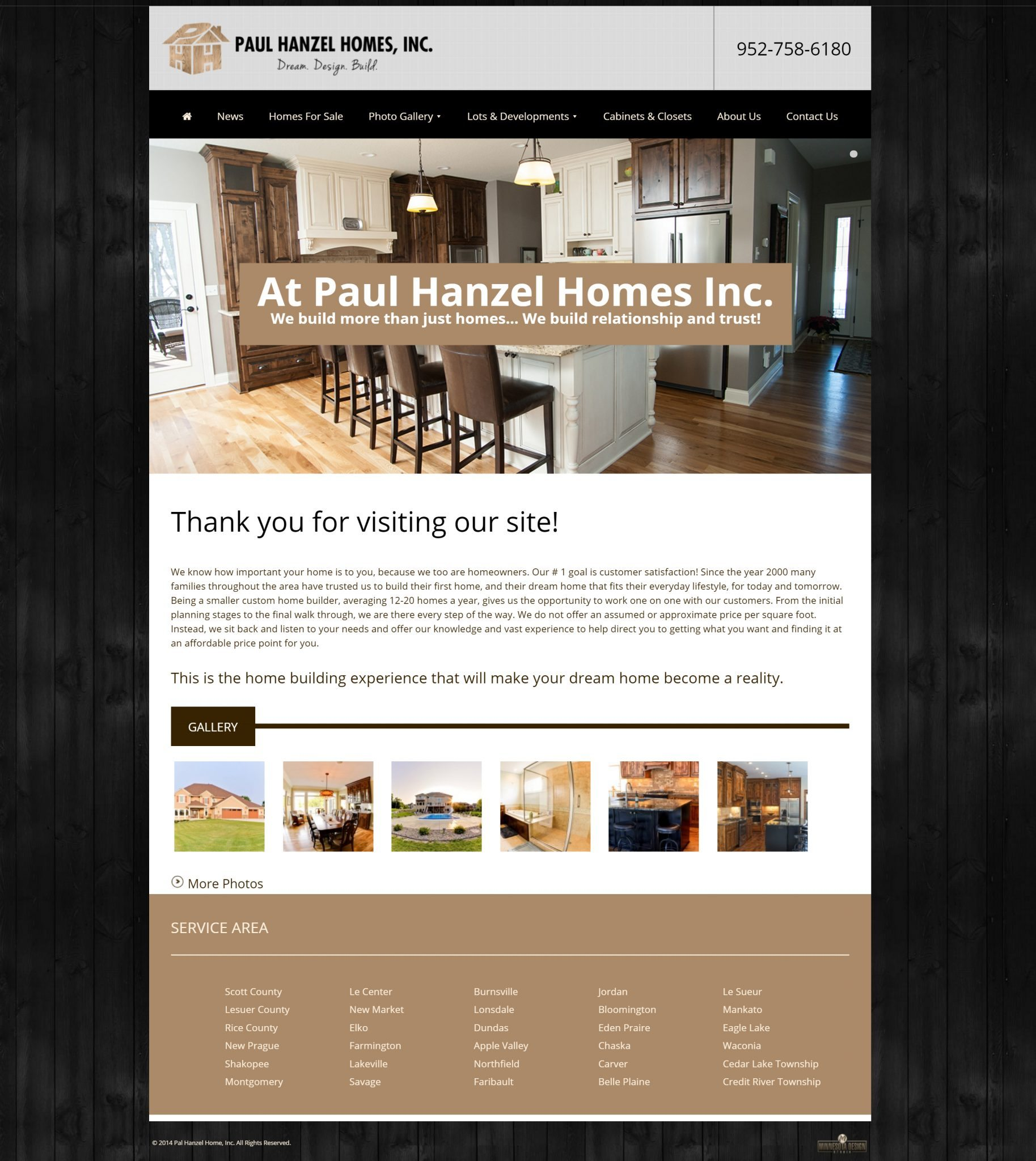 Paul Hanzel Homes, Inc.