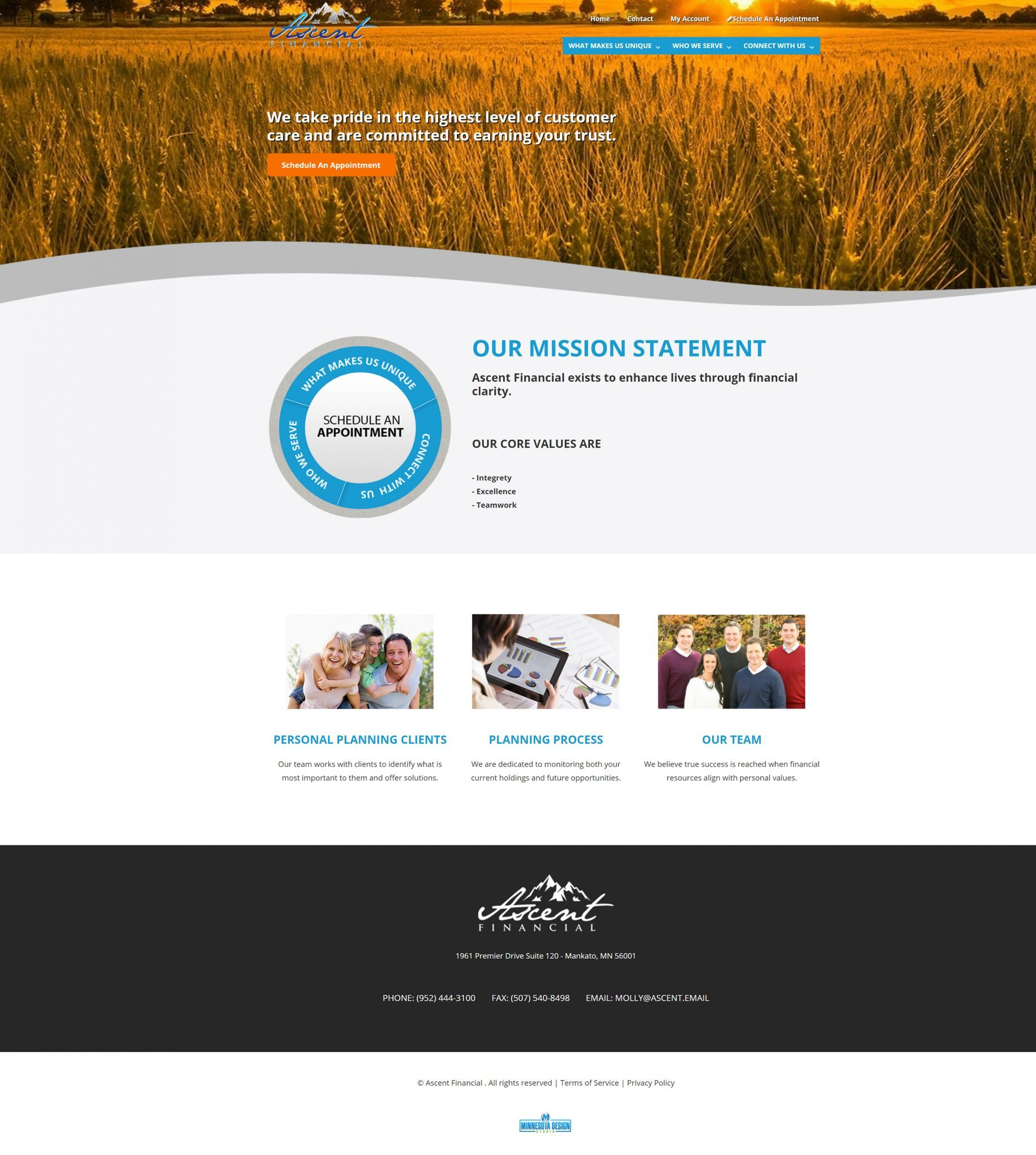 website design company mn