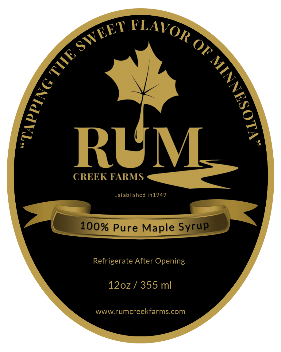Rum Creek Farms - Front Label