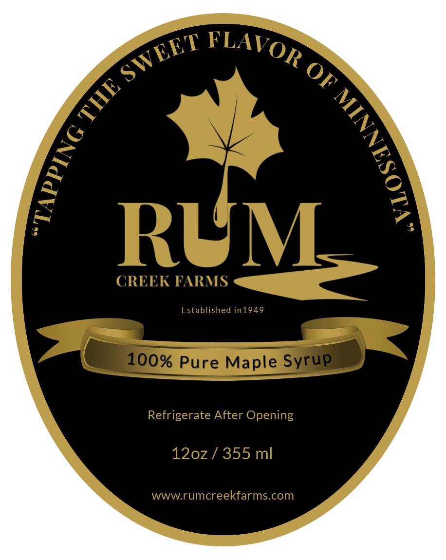 Rum Creek Farms - Front Label